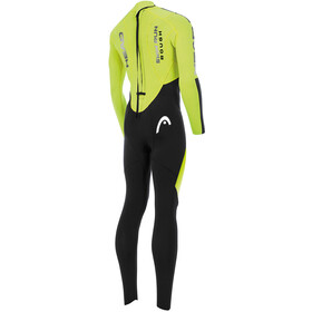 Head Swimrun Rough 4.3.2 Wetsuit Dames, yellow/black